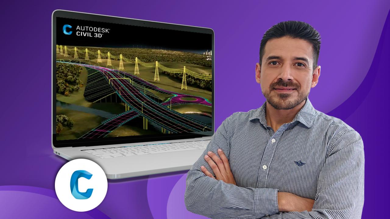 Civil 3D aplicado a proyectos viales