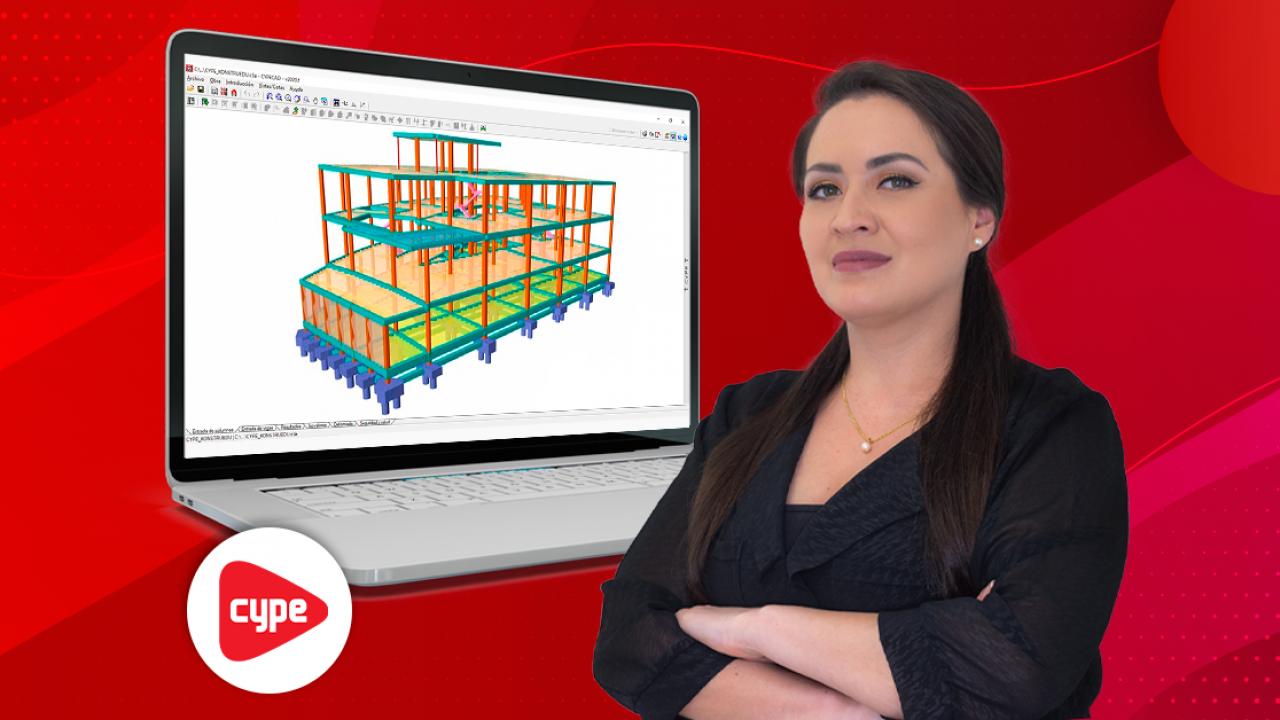 Análisis y diseño de estructuras de concreto armado con CYPECAD