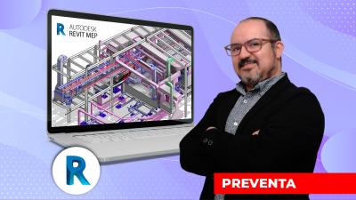 Modelado BIM con Revit MEP: Sanitarias y Mecánicas
