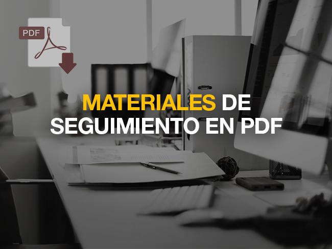 Materiales de seguimiento en pdf - Sesión 2