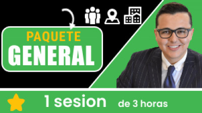 Paquete GENERAL: Incluye 1 sesión de 3 horas. Tu eres libre de escoger el tema, la fecha, hora, ciudad y domicilio.
